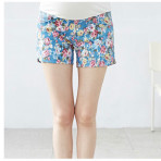 EBH8392-blue Shorts Hamil Modis