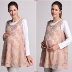 EBH15417 Vest Dress with Inner(2pcs)