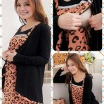 Breastfeeding Wool Dress EBH050415