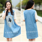 Denim Dress Pregnant EBH1915