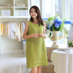 EBH 180615 Maternity Sleeves Dress