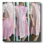 SL0102SL16 – Breastfeeding Baby Pink Dress