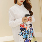 EBH030316 Maternity Cotton Shirt Korean