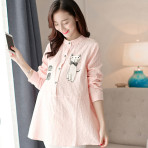 EBH070416 Shirt Spring Korean Maternity