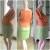 EBHSL0852016 Bat Wing Sleeved Dress Pregnant