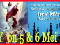 OFF DAY Hari Kenaikan Isa Al Masih dan Isra' Mi'raj
