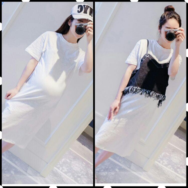 EBH150516 Two-Piece Vest Pregnant