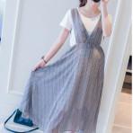 EBH010616 Two-Piece Maternity Dress