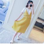 EBH020616 Dress Chiffon Pleated Skirt