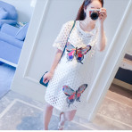 EBH150616 Maternity Dress Butterfly
