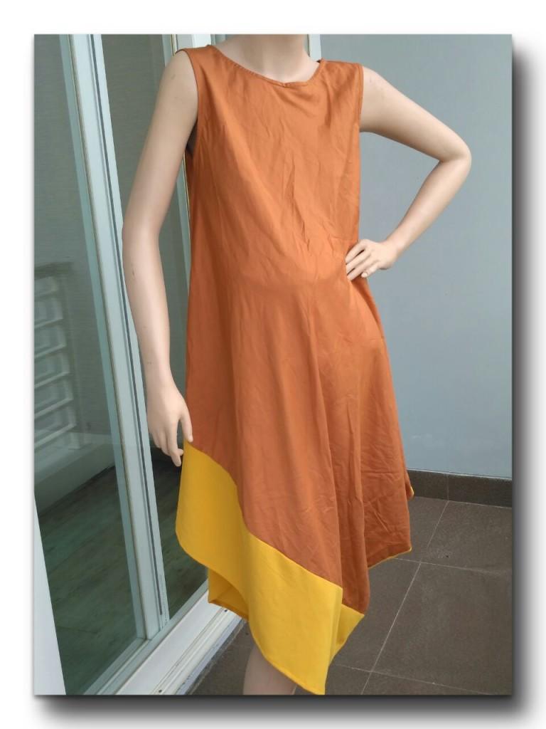 SL1252016 (c) Sleeveless Dress Pregnant