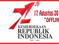 OFFLINE HARI KEMERDEKAAN RI 17 AGUSTUS 2016