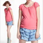 EBH010916 Mini Skirt Pregnant