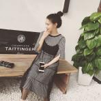 EBH130916 Pregnant Striped Skirt Fashion