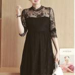 EBH140916 Dress Slim Long-Sleeved