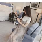 EBH160916 Maternity Crochet Dress