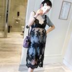 EBH190916 Lace Dress Tide