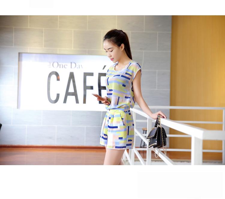 EBH030417 Set Baju Menyusui & Celana Pendek Casual