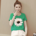 EBH140417 Breastfeeding Flower T-Shirt