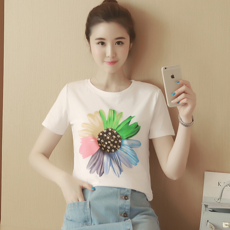 EBH150417  Breastfeeding Flower T-Shirt